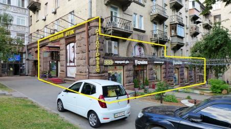 Продажа магазина  285м2 угол Крещатика и ул. Прорезная