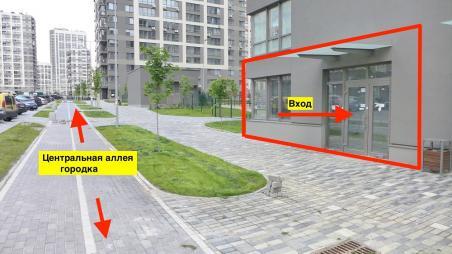Без %! Магазин / клиника / кафе 125м2 в ЖК Варшавский, Правды, 41а