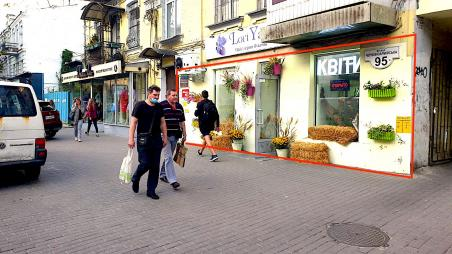 ФАСАД! ЦЕНТР! Магазин 95м2, Большая Васильковская, 95